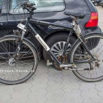 Das gefundene Fahrrad vom Fundbüro abholen